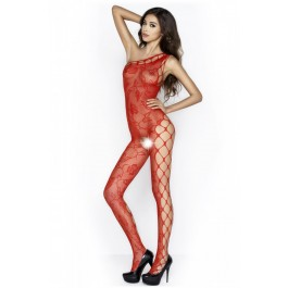 Passion – Lace Bodystocking Red