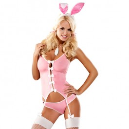 Obsessive - Bunny Suit Costume S/M
