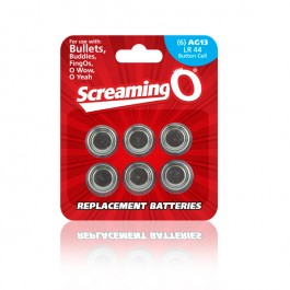 The Screaming O - Size Ag-13 Batteries