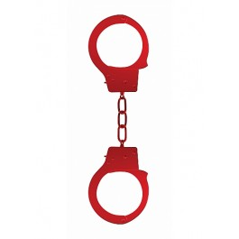 Ouch! - Beginner's Handcuffs Red