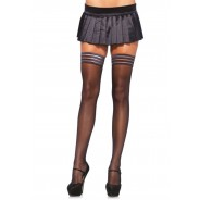 Leg Avenue-Sheer stay up with striped top