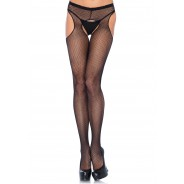 Leg Avenue - Plus Size Suspender Pantyhose