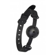 Blaze Ball Gag With Painting Edge Black