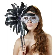 Mask with wand