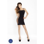 Passion - Black Short Dress