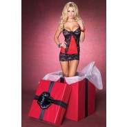 Leg Avenue - Chemise With G-String
