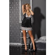 Andalea - Chemise With String & Garter