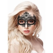 Ouch! - Queen Black Lace Mask – Black