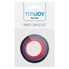 Toyjoy - Triple Rings Multicolor 3pcs