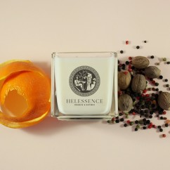 Helessence – Orange & Nutmeg Massage Candle