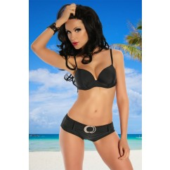 Push - Up Bikini Black