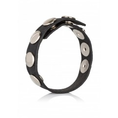 California Exotics – Leather Multi-snap Ring