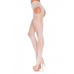 Leg Avenue-Fishnet suspender pantyhose