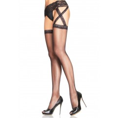 Leg Avenue – Plus Size Garterbelt Stockings