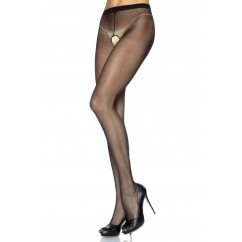Leg Avenue - Plus Size Crotchless Pantyhose