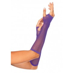 Leg Avenue-Triangle net fingerless glove