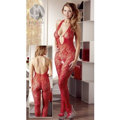 Catsuit Pearl Red