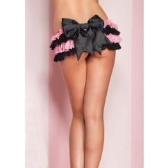 Leg Avenue-Mini skirt with oversized bow