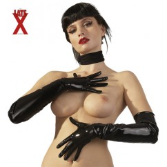 Latex Gloves Black