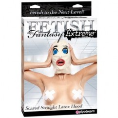 Fetish Fantasy-Scared latex hood