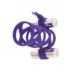 Toyjoy - Double Tickler Sleeve Set Purple