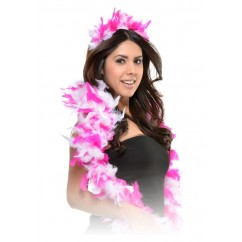 Feather party boa/tiara set