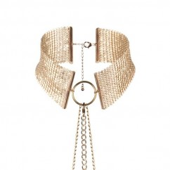 Bijoux Indiscrets-Desir metallique collar gold