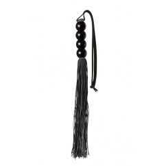 Guilty Pleasure - Silicone Flogger Whip Black