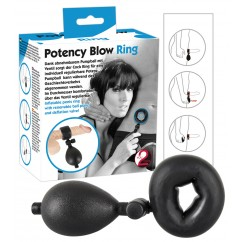 Inflatable Cock Ring Small