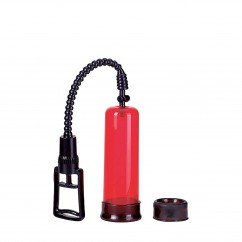 Air Control Penis Pump Red