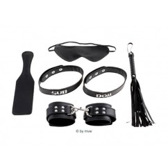Fetish Fantasy - Sub & Dom Kit Black