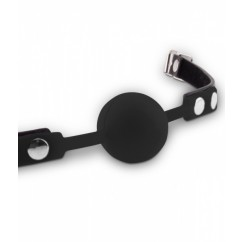 Fetish Dreams Silicone Ball Gag Black