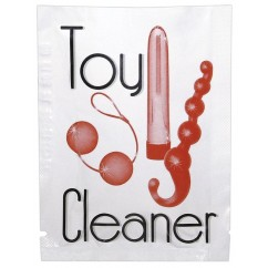 Toy cleaner wipe