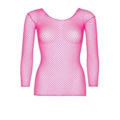 Leg Avenue - Long Sleeves T-Shirt Neon Pink