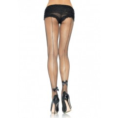 Leg Avenue-Backseam fishnet pantyhose