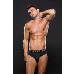 Envy - Micro Lowrise Elastic Brief Black