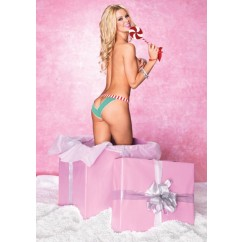Leg Avenue-Panty and peppermint paddle
