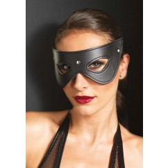 Leg Avenue-Faux leather studded eye mask