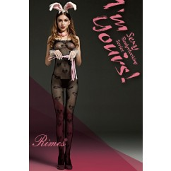 Bodystocking Rimes Black