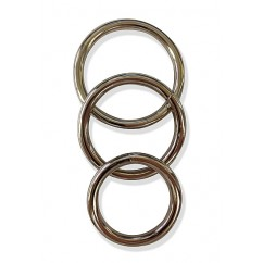 Sportsheets - Metal O Ring 3 Pack