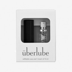 Uberlube Black Silver 15ml
