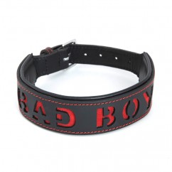 Leather Collar – Bad Boy